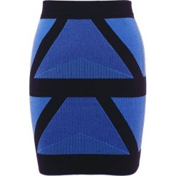 Spódniczki: DESIGNERS REMIX ALVIN  Spódnica ołówkowa  skyblue/black