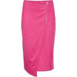 Spódniczki: Spódnica z zamkiem bonprix ciemnoróżowy
