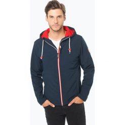 Derbe - Męska kurtka funkcyjna – Isle of Skye, niebieski. Niebieskie kurtki męskie marki Derbe, m, z materiału, eleganckie. Za 579,99 zł.