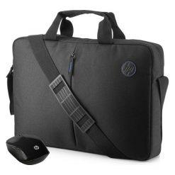 Torba HP Torba + Mysz do laptopa (2GJ35AA). Czarne torby na laptopa HP. Za 59,00 zł.