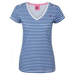 Loap Bluzka Betana Blue S. Niebieskie bluzki sportowe damskie Loap, s, z krótkim rękawem. W wyprzedaży za 45,00 zł.
