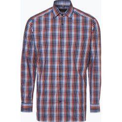 Finshley & Harding - Koszula męska, pomarańczowy. Czarne koszule męskie marki Finshley & Harding, w kratkę. Za 89,95 zł.