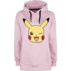 Pokemon Pikachu Bluza z kapturem damska jasnoróżowy (Light Pink). Czerwone bluzy z kapturem damskie POKEMON, l. Za 199,90 zł.