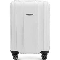 Walizka kabinowa 56-3T-731-88. Białe walizki Wittchen, małe. Za 239,00 zł.