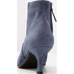 Alberto Zago Ankle boot jeans. Niebieskie botki damskie skórzane Alberto Zago. Za 839,00 zł.