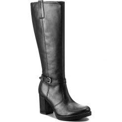 Kozaki LASOCKI - 7471-10 Czarny. Czarne buty zimowe damskie Lasocki, ze skóry, na obcasie. Za 349,99 zł.