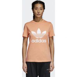 Koszulka adidas Trefoil Tee (CD6892). Różowe bluzki damskie Adidas, z bawełny. Za 69,99 zł.