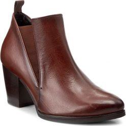 Botki GABOR - 51.710.24 Castagno. Brązowe buty zimowe damskie Gabor, z materiału. W wyprzedaży za 299,00 zł.