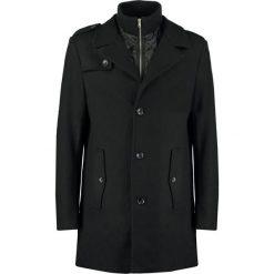 KIOMI Krótki płaszcz black. Niebieskie płaszcze damskie wełniane marki KIOMI. Za 509,00 zł.
