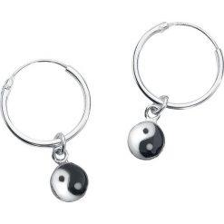 Kolczyki damskie: Yin Yang Kolczyki srebrny