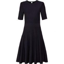 BOSS CASUAL WILDAH Sukienka dzianinowa navy. Niebieskie sukienki dzianinowe BOSS Casual, na co dzień, xs, casualowe. Za 959,00 zł.