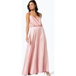 Sukienki: Unique - Damska sukienka wieczorowa, różowy