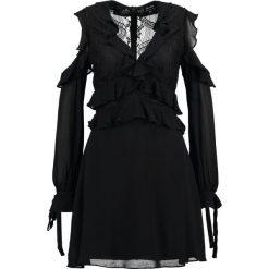 Sukienki hiszpanki: Bardot FLORENTINE Sukienka letnia schwarz