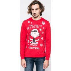 Blend - Bluza. Czerwone bluzy męskie rozpinane marki KALENJI, m, z elastanu, z długim rękawem, długie. W wyprzedaży za 79,90 zł.