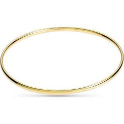Bransoletki damskie na nogę: Wspaniała Bransoletka Złota - złoto żółte 375