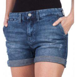Pepe Jeans Szorty Damskie Naomie 26 Niebieski. Niebieskie szorty jeansowe damskie marki Pepe Jeans. W wyprzedaży za 202,00 zł.