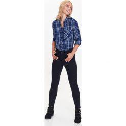 Spodnie damskie: SPODNIE DAMSKIE DŁUGIE Z METALOWYM ZDOBIENIEM