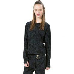 Bluzki sportowe damskie: Koszulka w kolorze czarnym