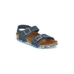 Sandały Dziecko  Birki's  NEW YORK. Niebieskie sandały dziewczęce marki Birki's. Za 202,30 zł.