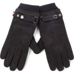 Rękawiczki męskie: Rękawiczki Męskie TOMMY HILFIGER - Casual Leather Glove AM0AM04117 S/M 002
