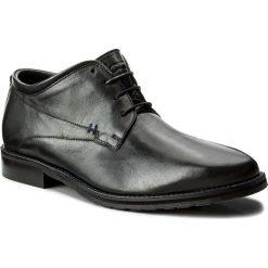 Półbuty KAZAR - Jack 30385-01-00 Czarny. Czarne buty wizytowe męskie Kazar, ze skóry. W wyprzedaży za 289,00 zł.