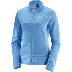 Salomon Bluza Damska Right Nice Fz Mid W Hawaiian Surf S. Niebieskie bluzy sportowe damskie Salomon, s. Za 375,00 zł.