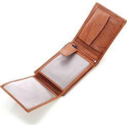 Portfel męski Bag Street skórzany w pudełku. Brązowe portfele męskie marki Bag Street, ze skóry. Za 49,00 zł.