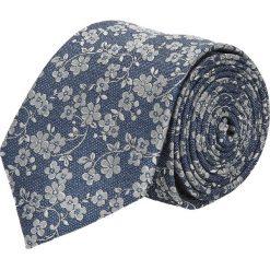 Krawat platinum niebieski classic 244. Niebieskie krawaty męskie Recman. Za 49,00 zł.