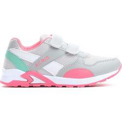 Szaro-Różowe Buty Sportowe Connect. Czerwone buty sportowe dziewczęce marki OLAIAN. Za 59,99 zł.
