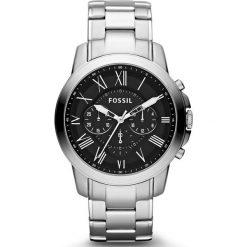 Zegarek FOSSIL - Grant FS4736IE  Silver/Steel. Różowe zegarki męskie marki Fossil, szklane. Za 695,00 zł.