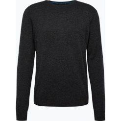 Andrew James - Sweter męski z czystego kaszmiru, szary. Szare swetry klasyczne męskie Andrew James, m, z dzianiny. Za 549,95 zł.