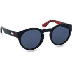 Okulary przeciwsłoneczne męskie: Okulary przeciwsłoneczne TOMMY HILFIGER - 1555/S Blue Rssbia 8RU