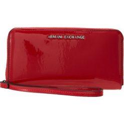Armani Exchange Portfel rosso red. Czerwone portfele damskie marki Armani Exchange. Za 439,00 zł.