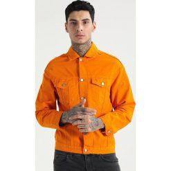 Kurtki męskie bomber: 12 Midnight Kurtka jeansowa orange