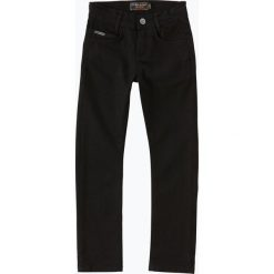 Blue Effect - Jeansy chłopięce slim fit, czarny. Czarne chinosy chłopięce Blue Effect, z jeansu. Za 179,95 zł.