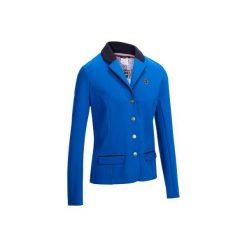 Marynarka jeździecka na zawody COMP100 damska. Niebieskie marynarki męskie marki bonprix, w kolorowe wzory. Za 129,99 zł.
