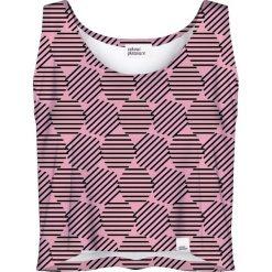 Colour Pleasure Koszulka damska CP-035 30 różowa r. XXXL-XXXXL. Czerwone bluzki damskie marki Colour pleasure. Za 64,14 zł.