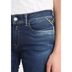 Replay LUZ PANTS Jeans Skinny Fit darkblue denim. Niebieskie jeansy damskie relaxed fit marki Replay. Za 659,00 zł.