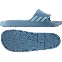 Klapki damskie: Adidas Klapki damskie Aqualette kolor niebieski r. 39 (CG3054)