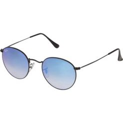 RayBan ROUND METAL Okulary przeciwsłoneczne black. Czarne okulary przeciwsłoneczne damskie lenonki Ray-Ban. Za 719,00 zł.