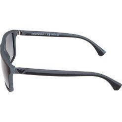 Emporio Armani Okulary przeciwsłoneczne black. Czarne okulary przeciwsłoneczne męskie aviatory Emporio Armani. Za 569,00 zł.