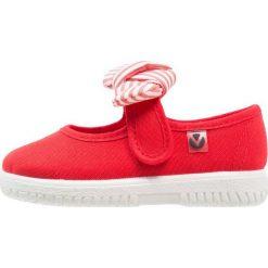 Baleriny damskie lakierowane: Victoria Shoes LONA PANUELO Baleriny z zapięciem rojo