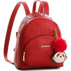 Plecak LOVE MOSCHINO - JC4072PP16LK0500 Rosso. Czerwone plecaki damskie marki Love Moschino. Za 959,00 zł.