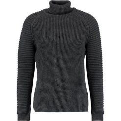 GStar SUZAKI TURTLE KNIT L/S Sweter dark grey heather. Szare kardigany męskie marki G-Star, l, z bawełny. W wyprzedaży za 351,75 zł.