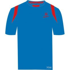 T-shirty chłopięce: Huari Koszulka dziecięca Azteca French Blue/fiery Red r. 152
