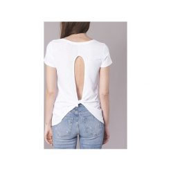 T-shirty z krótkim rękawem Guess  YURTYURT. Białe t-shirty damskie Guess, m, z aplikacjami. Za 143,20 zł.
