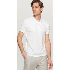 Odzież męska: Koszulka polo – Biały