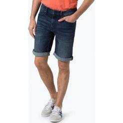 BOSS Casual - Spodenki męskie – Orange24, niebieski. Niebieskie bermudy męskie BOSS Casual, z jeansu, casualowe. Za 379,95 zł.