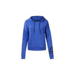 Bluzy Reebok Sport  Bluza z kapturem WOR Delta. Niebieskie bluzy sportowe damskie Reebok Sport, l, z kapturem. Za 229,00 zł.