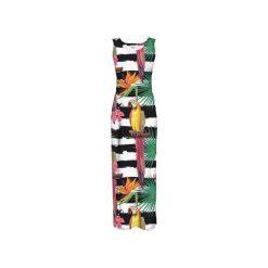 Sukienka CP-025  188. Szare długie sukienki Colour pleasure, s, z dzianiny, na ramiączkach. Za 159,00 zł.
